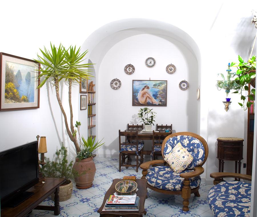 Villa Capri Apartments: Excellent Apartment For Rent In Capri Italy