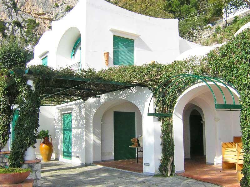 Villa For Rent Capri Island Italy