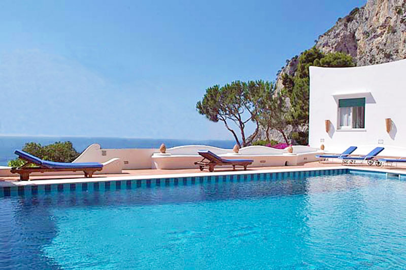 Villa For Rent Capri Island Italy
