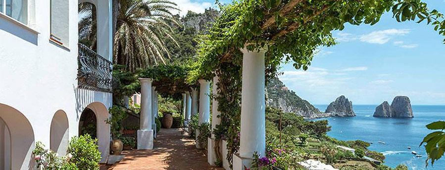 Luxury villa in capri for Capri luxury villas