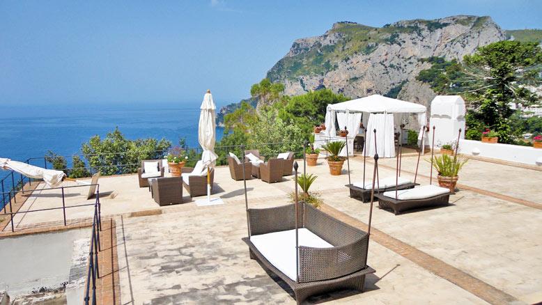 Capri Tragara Villa For Sale